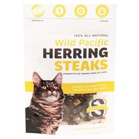 Snack 21 Wild Pacific Herring Steaks for CATS