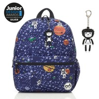 Zip n Zoe Junior Backpack - Spaceman