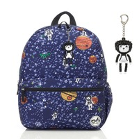 Zip n Zoe Midi Backpack - Spaceman