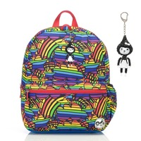 Zip n Zoe Junior Backpack - Rainbow Multi