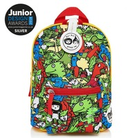 Zip n Zoe Mini Backpack - Dino Multi