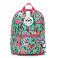 Zip n Zoe Mini Backpack - Flamingo