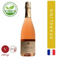 Valentin Zusslin - Cremant Brut Zero Rose - Sparkling Rose Wine