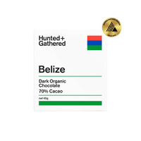 Hunted + Gathered 70% Belize Chocolate Bar