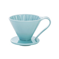 CAFEC Flower Dripper (Blue) for 1 Cup