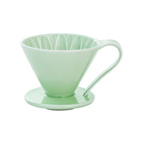 CAFEC Flower Dripper (Green) for 1 Cup