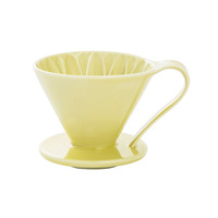 CAFEC Flower Dripper (Yellow) for 1 Cup