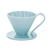 CAFEC Flower Dripper (Blue) for 4 Cup