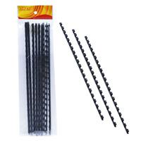 ALFAX 106BK Binding Ring 6mm 21R A4 10's Black