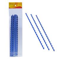 ALFAX 106BL Binding Ring 6mm 21R A4 10's Blue
