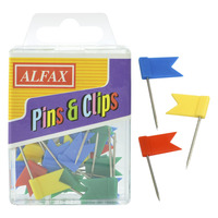 ALFAX PC389 Flag Pin 50's