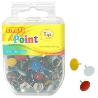 ALFAX PT643 Color Thumb Tack 160's