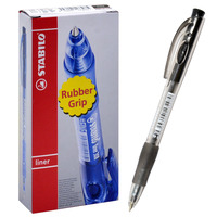 STABILO 308F Ball Pen Fine Black TR46