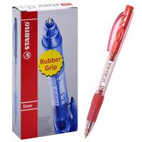 STABILO 308F Ball Pen Fine Red TR40
