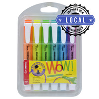 STABILO 275/6 Swing Cool Highlighter 6 Colours