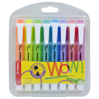 STABILO 275/8 Swing Cool Highlighter 8 Colours