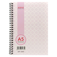 ALFAX A580 Ring Note Book A5 80pgs