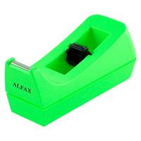 ALFAX TP071 Tape Dispenser Neon Green