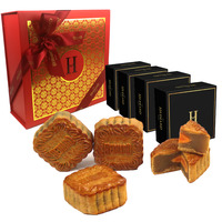 Hediard Gift-box - 4 Mooncakes