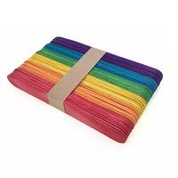 Mtrade Jumbo Ice Cream Craft Sticks - Colourful