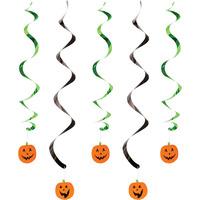 Creative Converting Paper Pumpkin Faces Dizzy Danglers