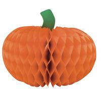 Creative Converting Small Pumpkin Honeycomb Centerpiece