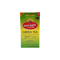 Wagh Bakri Green Tea With Basil Tea Bags