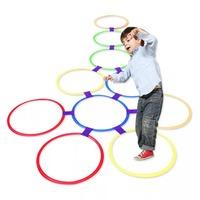 Outdoor Hopscotch Jumping Rings Diameter 28cm