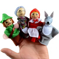 Finger Puppet Set - Little Red Riding Hood