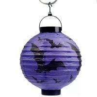 LED Paper Lantern - Bats