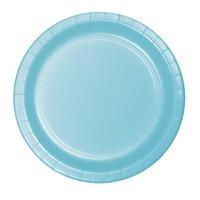 Creative Converting Light Blue 7 Inch Dessert Plates