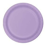 Creative Converting Lavender 7 Inch Dessert Plates