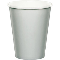 Creative Converting Silver 9 Oz Paper Cup