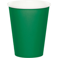 Creative Converting Green 9 Oz Paper Cup