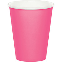 Creative Converting Candy Pink 9 Oz Paper Cup