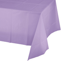 Creative Converting Lavender Plastic Tablecover