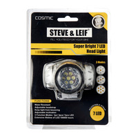Steve & Leif 7 LED Super Bright Bicycle Headlights