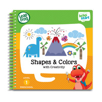 LeapFrog Leapstart Book - Shapes & Colors With Creativity