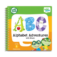 LeapFrog Leapstart Book - Alphabet Adventures With Music