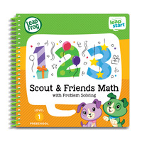 LeapFrog Leapstart Book - Scout&Friends Math With Problem Solving