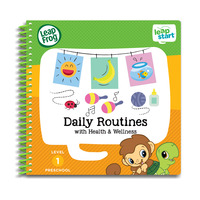 LeapFrog Leapstart Book - Daily Routines With Health & Wellness