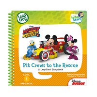 LeapFrog Leapstart 3D Book-Mickey & The Roadster Racers