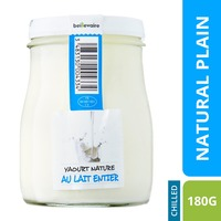 Beillevaire Traditional Natural Plain Yoghurt-By Culina