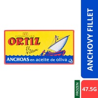 Ortiz Premium Anchovy Fillets In Olive Oil - Chilled-By Culina