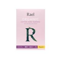 Rael Organic Cotton Tampons with Applicator - Regular