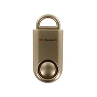 iMaxAlarm Portable SOS Alert Personal Security Alarm (Gold)