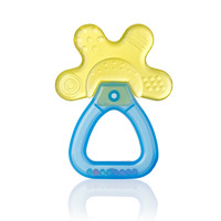 Brush-Baby Cool & Calm Teether - Yellow/Blue
