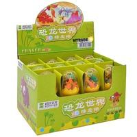 MTRADE Mini Dinosaur Erasers Capsule Eggs