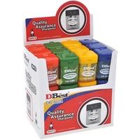 MTRADE Hi-Polymer Pencil Sharpener Assorted Colors