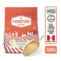 Foodsterr Peruvian White Quinoa Grains